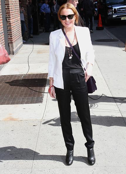 "Hair Back「Celebrities Visit ""Late Show With David Letterman"" - April 9, 2013」:写真・画像(13)[壁紙.com]"