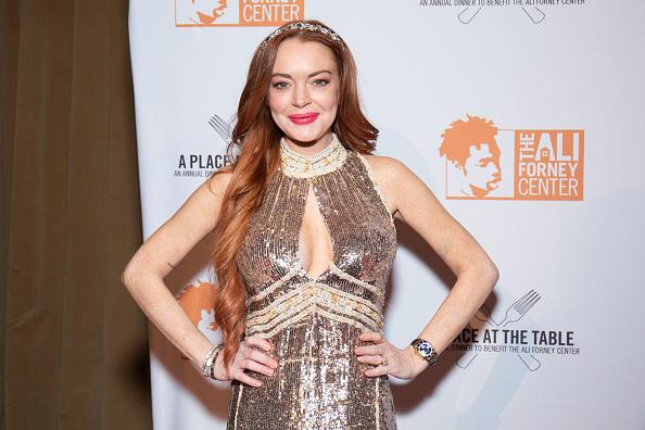 Lindsay Lohan「2019 Ali Forney Center Gala」:写真・画像(0)[壁紙.com]