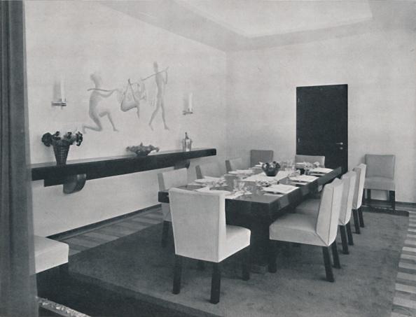 Dining Room「House In Bucharest By Rudolf Frankel - The Dining Room」:写真・画像(1)[壁紙.com]