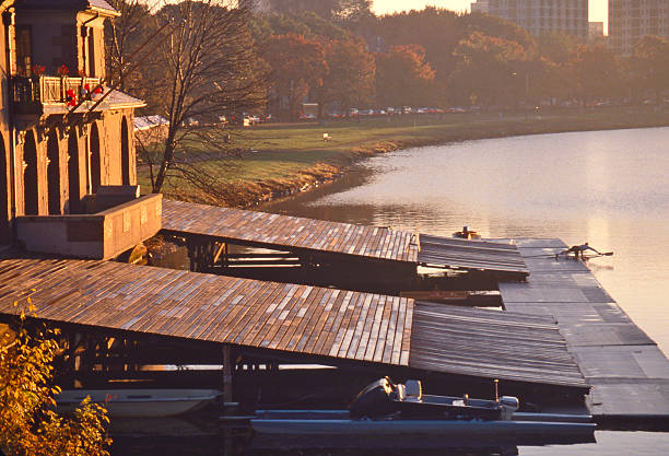 Rowing Workout, Charles River, Cambridge:スマホ壁紙(壁紙.com)
