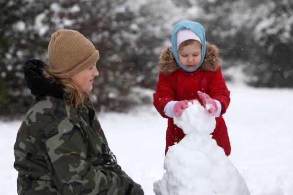 雪だるま「Freezing Temperatures Continue To Grip The Country」:写真・画像(7)[壁紙.com]