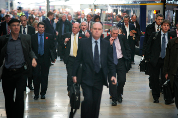Finance and Economy「Rush hour at London」:写真・画像(5)[壁紙.com]