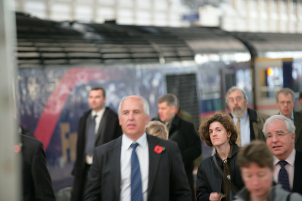 Finance and Economy「Rush hour at London」:写真・画像(4)[壁紙.com]