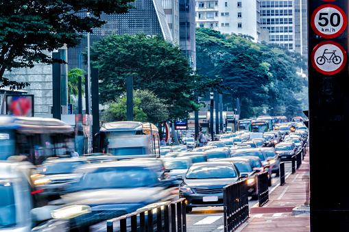 Avenida Paulista「Rush hour at Paulista Avenue」:スマホ壁紙(17)