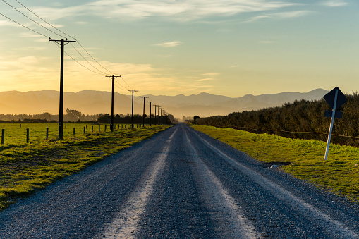 Southern Alps - New Zealand「Road To The Southern Alps, New Zealand」:スマホ壁紙(13)