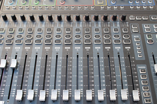 Music Festival「Sound board audio equipment」:スマホ壁紙(10)