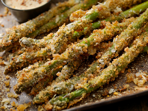 Chili Sauce「Baked Parmesan Crusted Asparagus with Herbs」:スマホ壁紙(1)