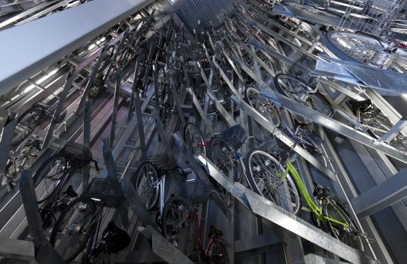 Transportation「Underground Bicycle Parking In Japan」:写真・画像(14)[壁紙.com]