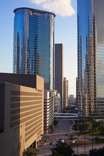 Postmodern「1500 Louisiana Street skyscraper in Houston」:スマホ壁紙(12)