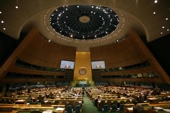 United Nations General Assembly「Heads Of State Address United Nations General Assembly」:写真・画像(13)[壁紙.com]