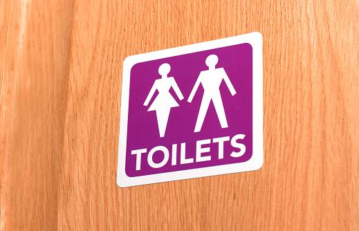 Gender Symbol「Gender neutral toilet door sign」:スマホ壁紙(16)