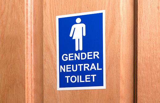 Gender Symbol「Gender neutral toilet door sign」:スマホ壁紙(9)