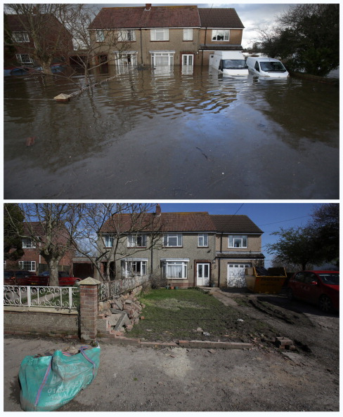 Somerset - England「Somerset Levels Continues To Recover From Recent Flooding」:写真・画像(14)[壁紙.com]