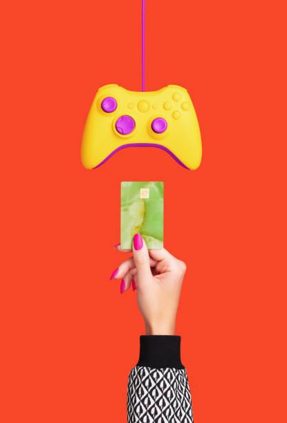 Credit Card and Games Controller:スマホ壁紙(壁紙.com)