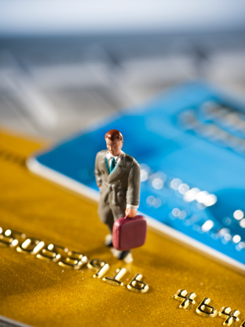 Figurine「Credit cards and business」:スマホ壁紙(15)
