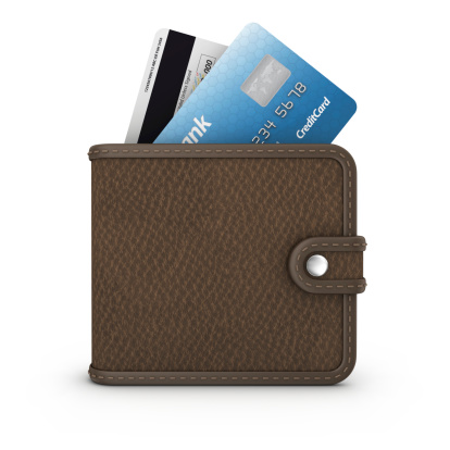 Credit Card「credit card in wallet」:スマホ壁紙(12)