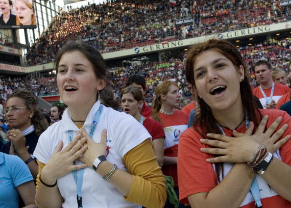 Worshipper「Pilgrims Arrive for World Youth Day」:写真・画像(3)[壁紙.com]