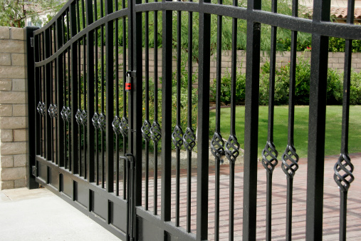 Wrought Iron「Large Residential Security Gates」:スマホ壁紙(8)