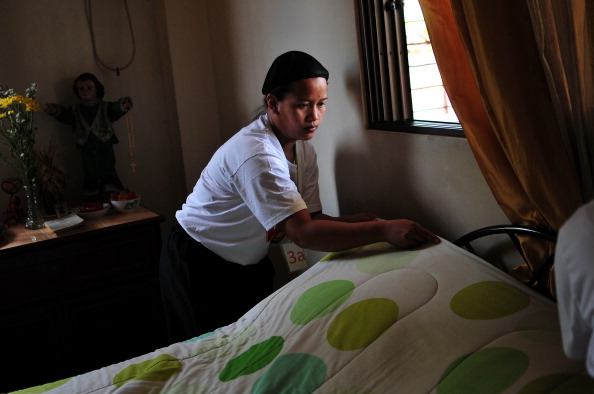 Domestic Life「Training School Prepares Filipinos To Work As A Domestic Helper」:写真・画像(4)[壁紙.com]