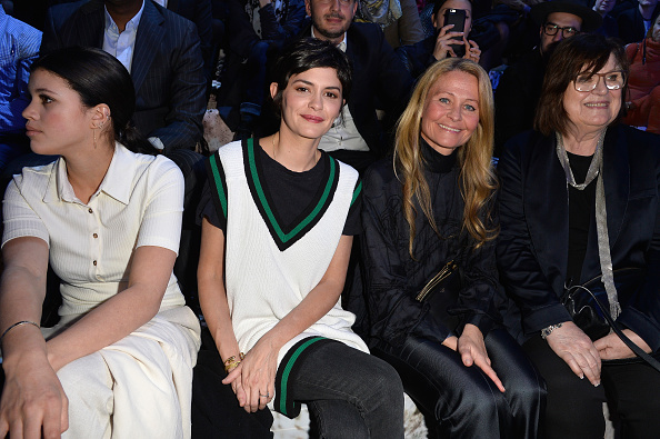 Audrey Tautou「H&M : Front Row - Paris Fashion Week Womenswear Fall/Winter 2015/2016」:写真・画像(8)[壁紙.com]