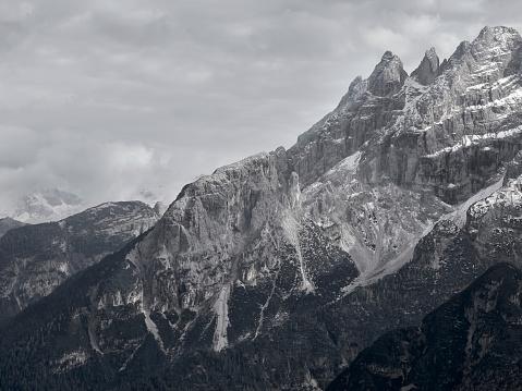 Alto Adige - Italy「Monte Cristallo」:スマホ壁紙(7)