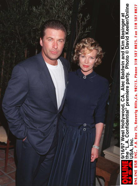 "David Keeler「9/16/97 West Hollywood, CA. Alec Baldwin and Kim Basinger at the ""L.A. Confidential"" premiere party 」:写真・画像(2)[壁紙.com]"