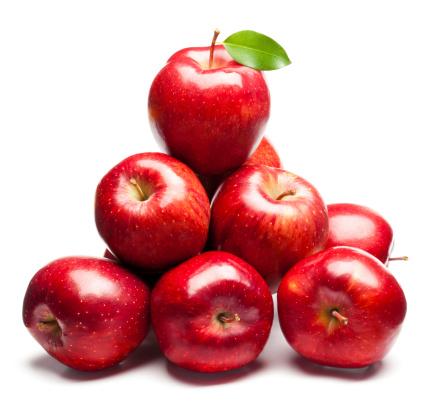 新鮮「レッドリンゴ」:スマホ壁紙(18)