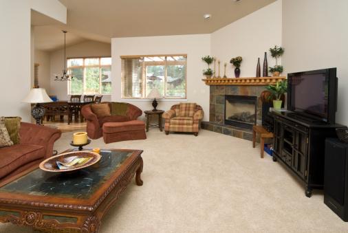 Lamp Shade「Modern living room with furnishing」:スマホ壁紙(12)