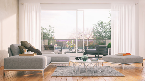 Scandinavia「Modern living room」:スマホ壁紙(15)