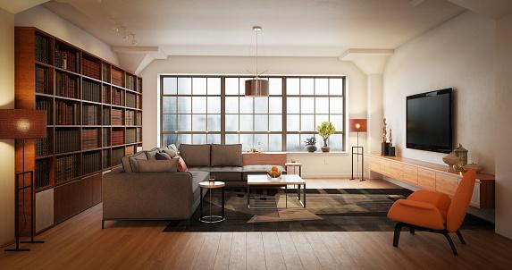 Toned Image「Modern Living Room」:スマホ壁紙(15)