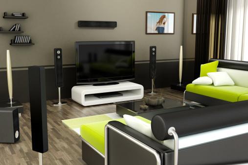 Electrical Equipment「Modern living room」:スマホ壁紙(16)