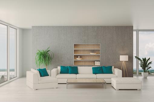 Window Frame「Modern Living Room」:スマホ壁紙(2)