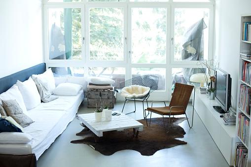 ソファ「Modern living room」:スマホ壁紙(3)