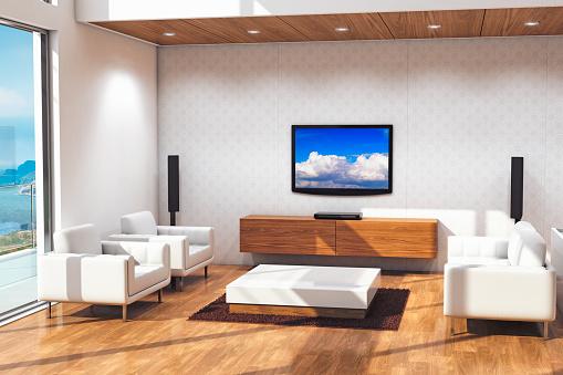 Arts Culture and Entertainment「Modern Living Room」:スマホ壁紙(2)