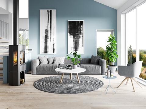 Flower Pot「Modern living room」:スマホ壁紙(11)