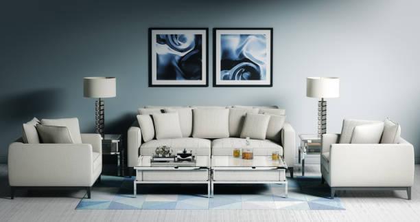 Modern Living Room (17:9):スマホ壁紙(壁紙.com)