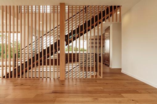 Architectural Column「Modern Living Room, Staircase, Kitchen」:スマホ壁紙(14)