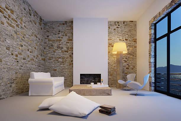 Modern Living Room Interior:スマホ壁紙(壁紙.com)