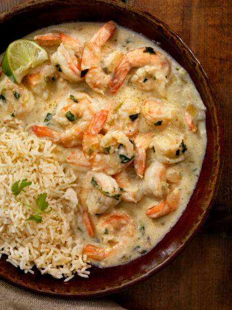 Thai, Coconut and Lime Shrimp:スマホ壁紙(壁紙.com)