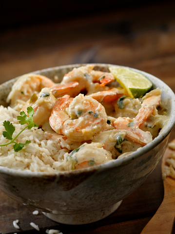 Basmati Rice「Thai, Coconut and Lime Shrimp」:スマホ壁紙(12)