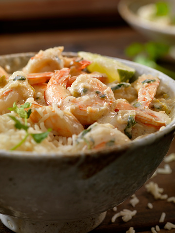 Basmati Rice「Thai, Coconut and Lime Shrimp」:スマホ壁紙(10)