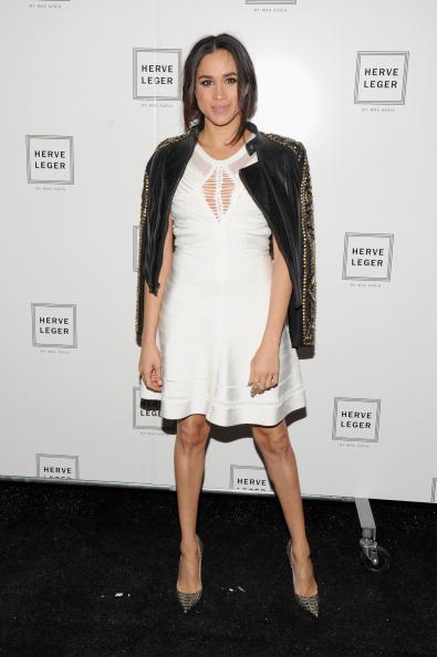 Coat - Garment「Herve Leger By Max Azria - Backstage - Mercedes-Benz Fashion Week Fall 2014」:写真・画像(6)[壁紙.com]