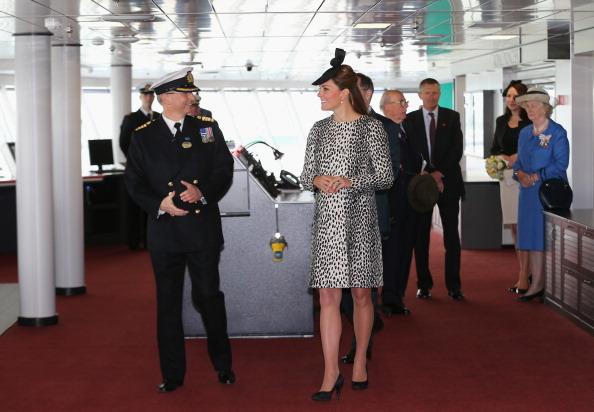 Passenger Craft「The Duchess Of Cambridge Attends Princess Cruises Ship Naming Ceremony」:写真・画像(0)[壁紙.com]
