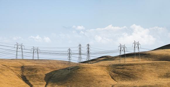 Rolling Landscape「High Tension Power Lines」:スマホ壁紙(17)