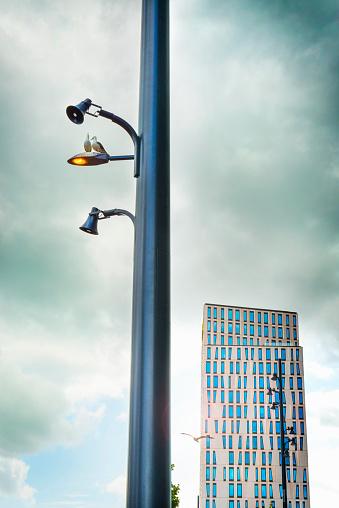cloud「office building in Rotterdam」:スマホ壁紙(1)