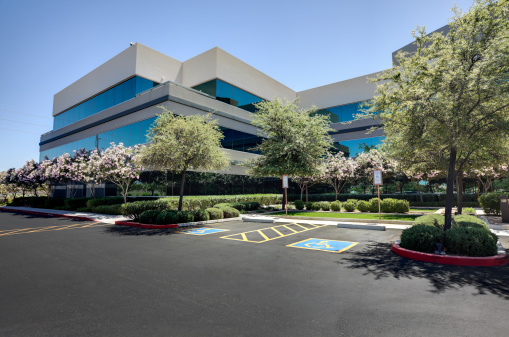Corporate Business「Office Building」:スマホ壁紙(1)