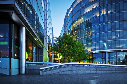 Environmental Conservation「office buildings in London」:スマホ壁紙(10)