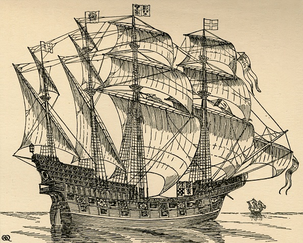 16th Century「The Ark Royal」:写真・画像(3)[壁紙.com]