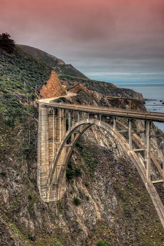 Bixby Creek Bridge「Bixby Bridge」:スマホ壁紙(11)