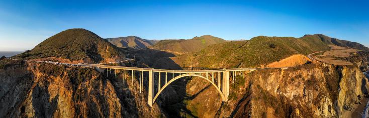 Big Sur「Bixby Bridge in Monterey County California」:スマホ壁紙(12)